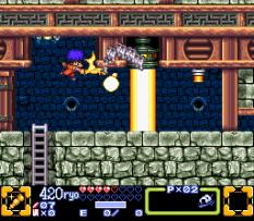Ganbare Goemon 3 SNES 055