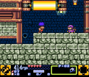 Ganbare Goemon 3 SNES 056