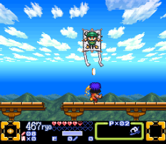 Ganbare Goemon 3 SNES 066