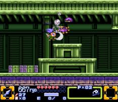 Ganbare Goemon 3 SNES 099
