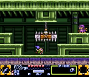 Ganbare Goemon 3 SNES 100