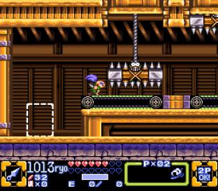 Ganbare Goemon 3 SNES 108
