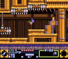 Ganbare Goemon 3 SNES 109