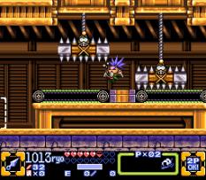 Ganbare Goemon 3 SNES 110