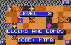 Crystal Mines 2 Atari Lynx 011