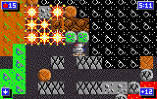Crystal Mines 2 Atari Lynx 064