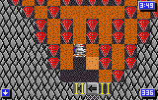 Crystal Mines 2 Atari Lynx 078