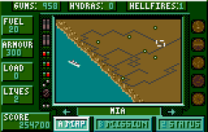 Desert Strike Atari Lynx 32