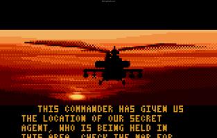 Desert Strike Atari Lynx 34