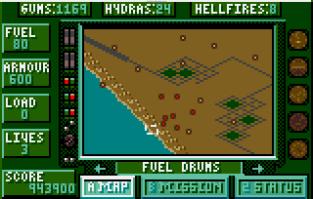 Desert Strike Atari Lynx 86