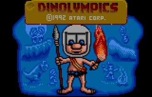 Dinolympics Atari Lynx 01