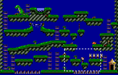 Dinolympics Atari Lynx 55