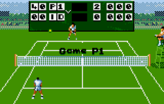Jimmy Connors Tennis Atari Lynx 11