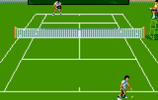 Jimmy Connors Tennis Atari Lynx 12