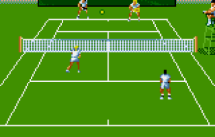 Jimmy Connors Tennis Atari Lynx 56