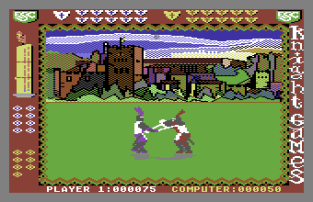 Knight Games C64 34