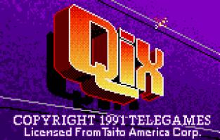 Qix Atari Lynx 01