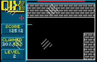Qix Atari Lynx 09