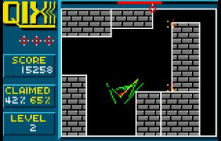 Qix Atari Lynx 12