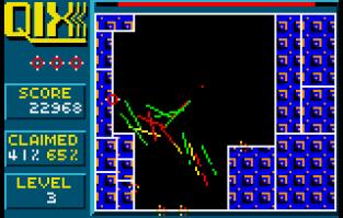 Qix Atari Lynx 20