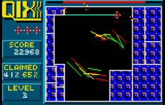 Qix Atari Lynx 21