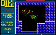 Qix Atari Lynx 22