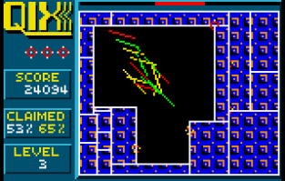 Qix Atari Lynx 23