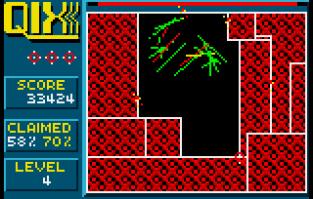 Qix Atari Lynx 31