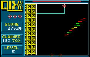 Qix Atari Lynx 34