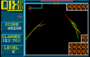 Qix Atari Lynx 45