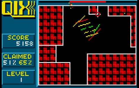 Qix Atari Lynx 56