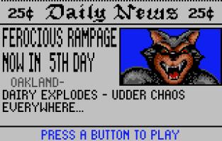 Rampage Atari Lynx 089