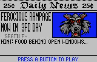 Rampage Atari Lynx 111