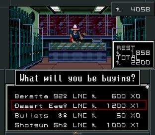 Shin Megami Tensei 2 SNES 056