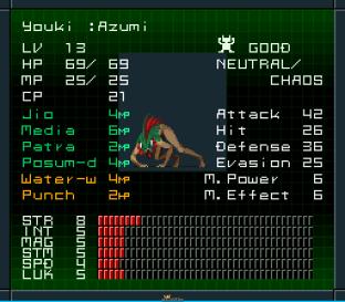 Shin Megami Tensei 2 SNES 086