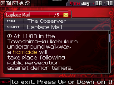 Shin Megami Tensei - Devil Survivor Nintendo DS 241