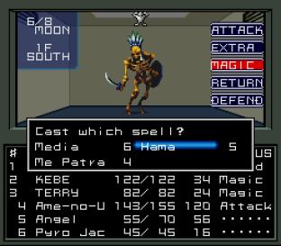 Shin Megami Tensei SNES 086