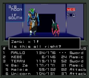 Shin Megami Tensei SNES 130