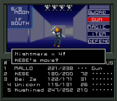 Shin Megami Tensei SNES 153