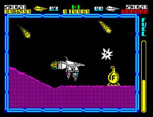 Cyberun ZX Spectrum 09