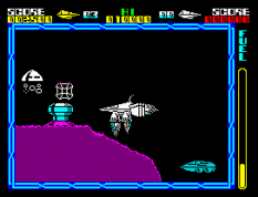 Cyberun ZX Spectrum 10