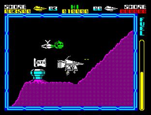 Cyberun ZX Spectrum 12