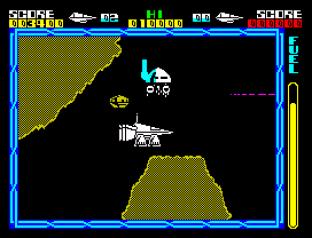Cyberun ZX Spectrum 45