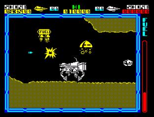 Cyberun ZX Spectrum 78