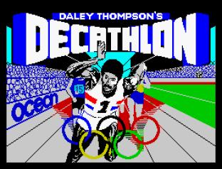 Daley Thompson's Decathlon ZX Spectrum 01