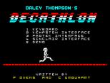 Daley Thompson's Decathlon ZX Spectrum 02