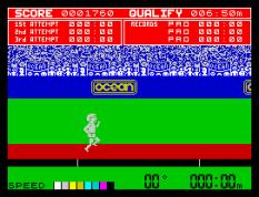 Daley Thompson's Decathlon ZX Spectrum 10