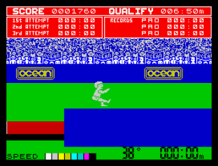 Daley Thompson's Decathlon ZX Spectrum 12