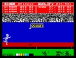 Daley Thompson's Decathlon ZX Spectrum 18