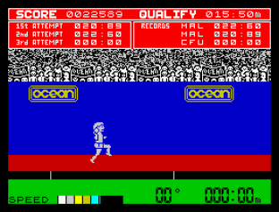 Daley Thompson's Decathlon ZX Spectrum 20